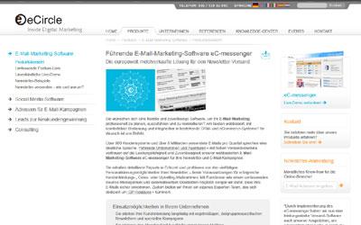 ecircle der marktführer für E-Mail Marketing Software